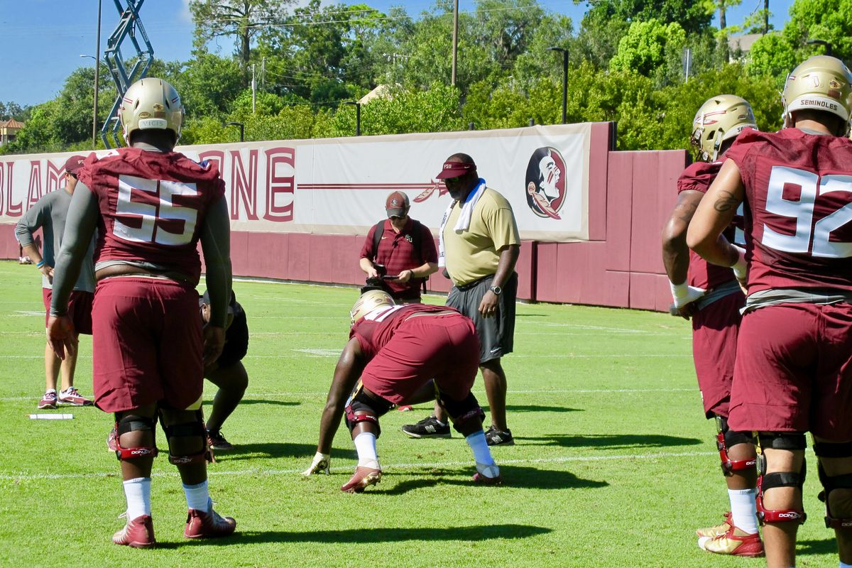 Florida State s Odell Haggins enjoying the process heading into ... b65594641
