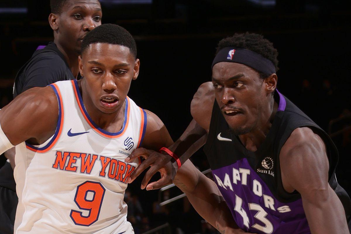 Five thoughts recap: New York Knicks 102, Toronto Raptors 96, Pascal Siakam