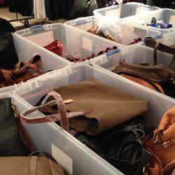 The bag selection