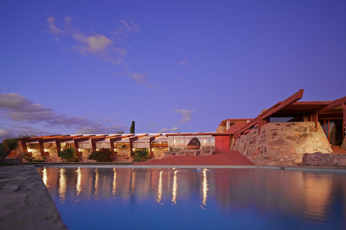Taliesin West. All images by Andrew Pielage, copyright Frank Lloyd Wright Foundation, unless otherwise noted.