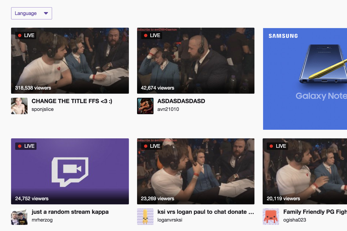 KSI and Logan Paul's $10 YouTube fight proved Twitch pirates