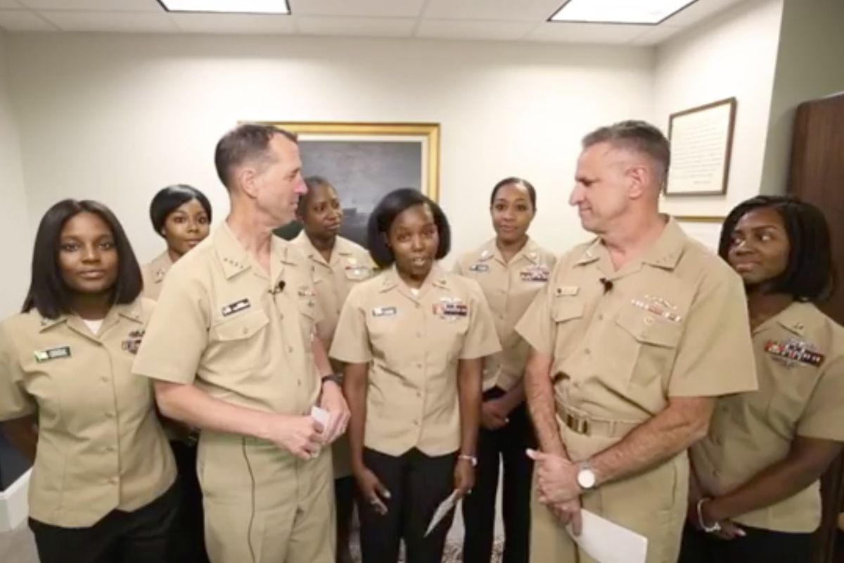The Navy S Hair Policy Update Includes Locs Ponytails And Big Buns