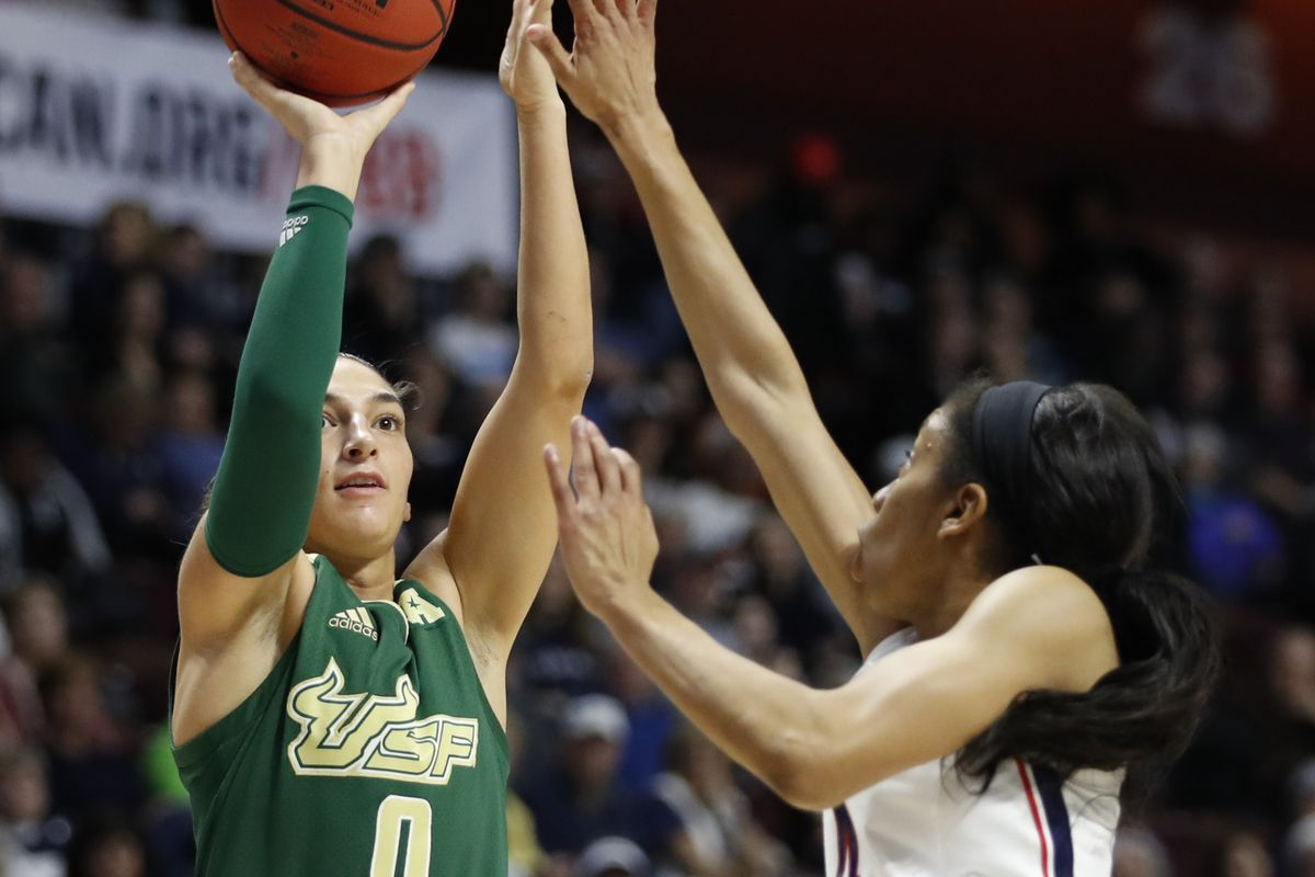 NCAA Womens Basketball: American Conference Tournament-USF vs Connecticut