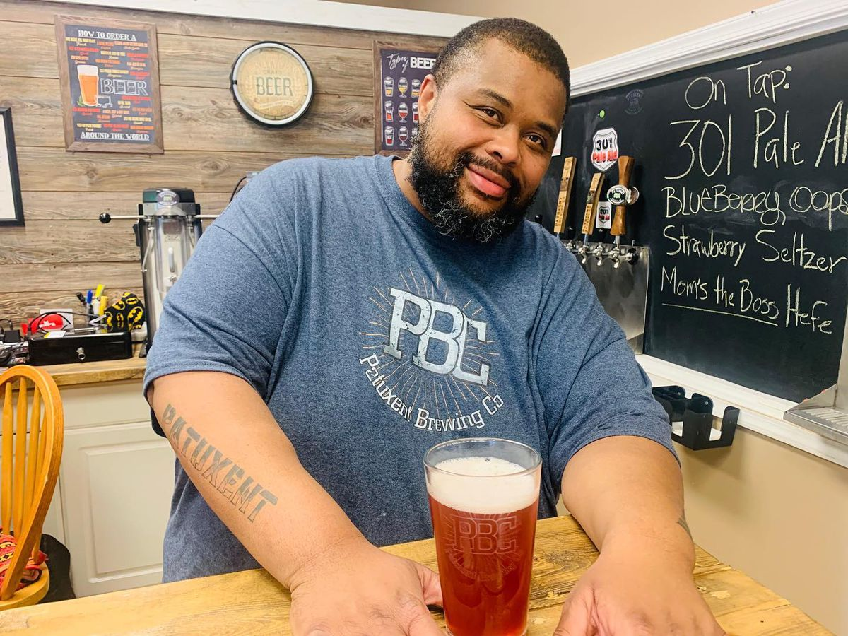 Patuxent Brewing Company founder Davie Feaster