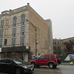 The Wheelhouse.The older building is to be incorporated into a new building to be constructed on the vacant lot to the south