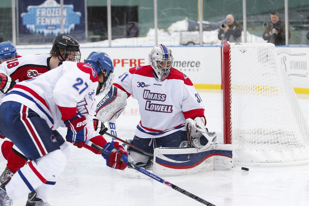 Jeff Smith is the likely heir apparent in net for UMass Lowell.