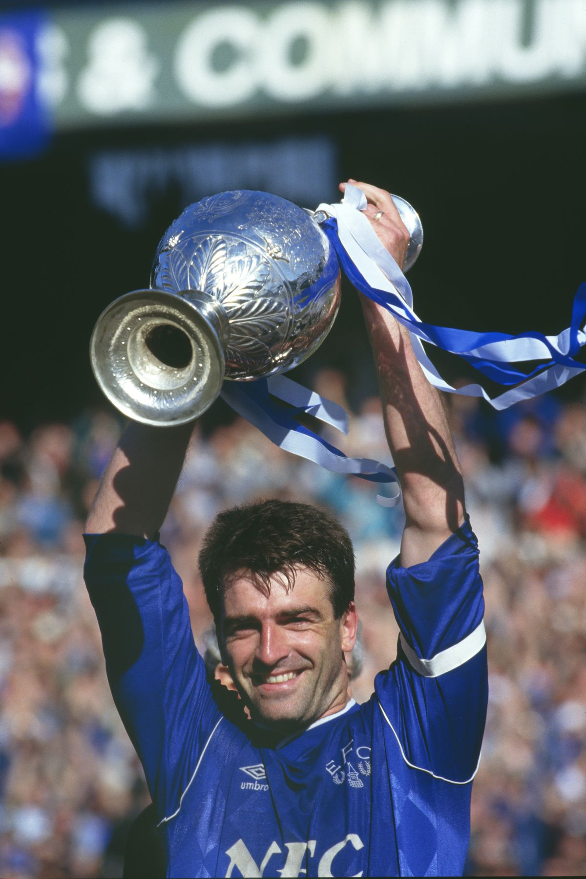 Kevin Ratcliffe Everton 1987 Division One Champions