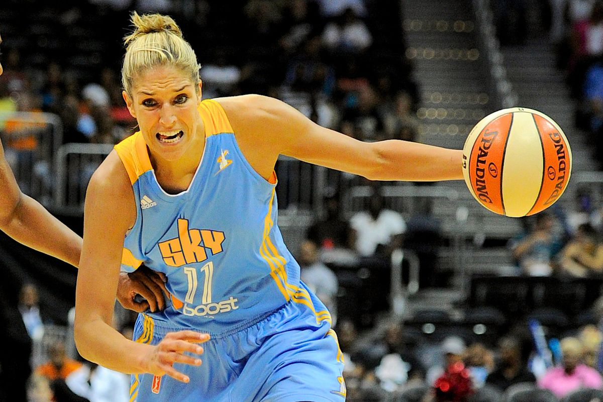 WNBA Rookie of the Month Elena Delle Donne could end up being the most marketable of the 3 to see.