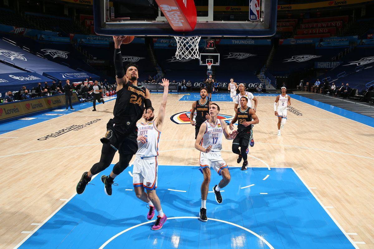 Memphis Grizzlies vs. Oklahoma City Thunder