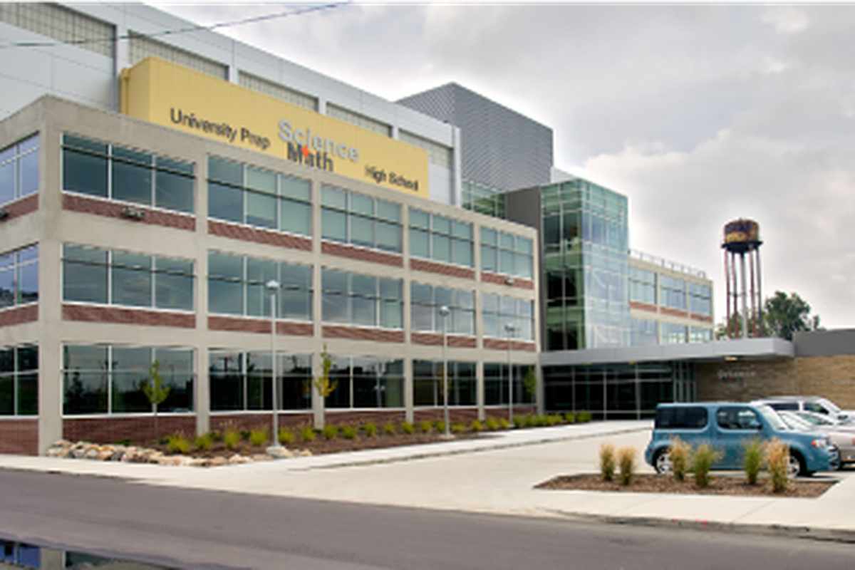 University Prep Science and Math High School. The network, which is backed by both state funding and philanthropic dollars, could lose $1.2 million following Gov. Gretchen Whitmer's veto of charter school funding.