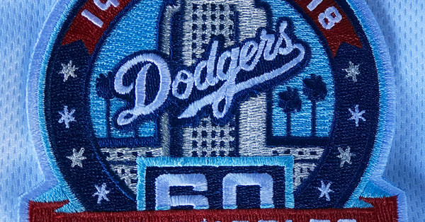 Dodgers to wear uniform patch for 60th anniversary in Los Angeles - True Blue LA