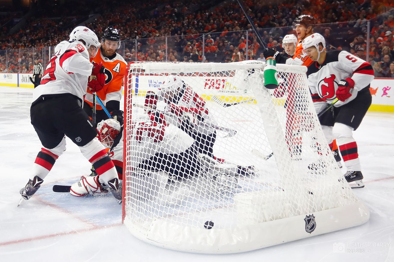 Slap Shots: Flyers vs Devils