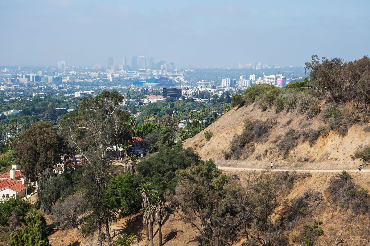 Trail in Runyon Canyon