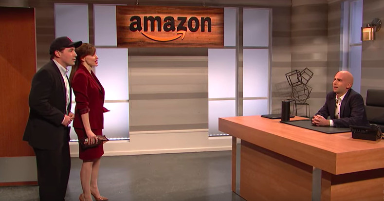 Watch 'Saturday Night Live' parody Jeff Bezos' search for Amazon's HQ2
