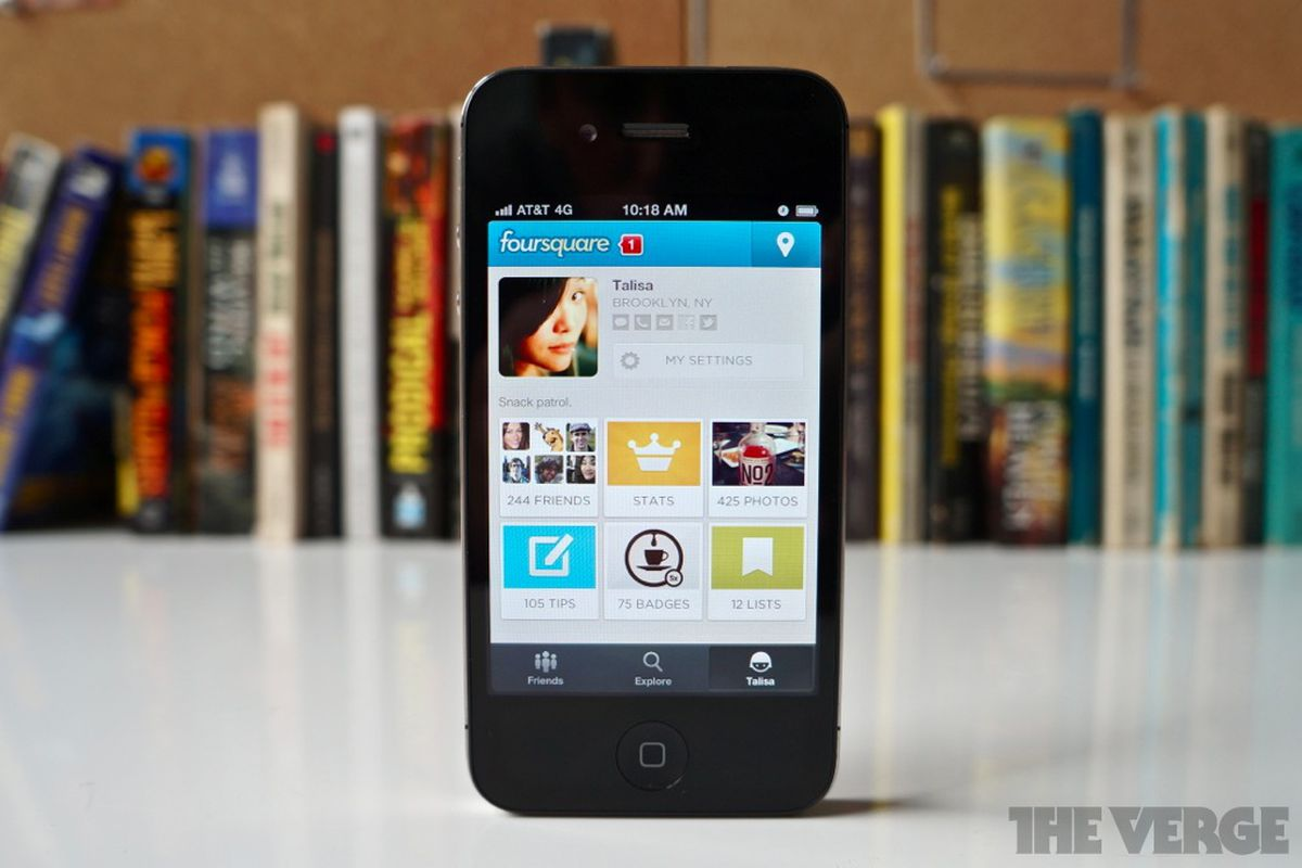 foursquare new app 1020