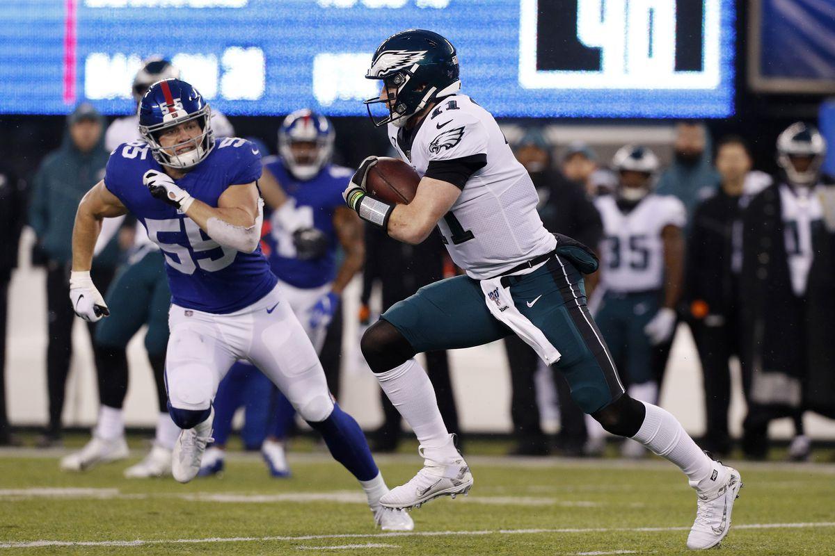 Philadelphia Eagles vNew York Giants