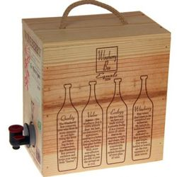The Wineberry box: the Grand Marquis of boxed wine.