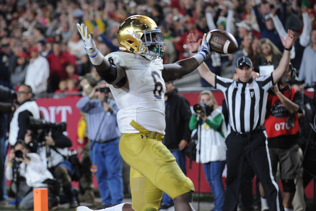 Notre Dame Beat One Rival 24 17 To Make Other 24 17 Rivalry Win