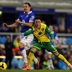 Jagielka retained the captain's armband from the outset of Roberto Martinez' era in 2013-14