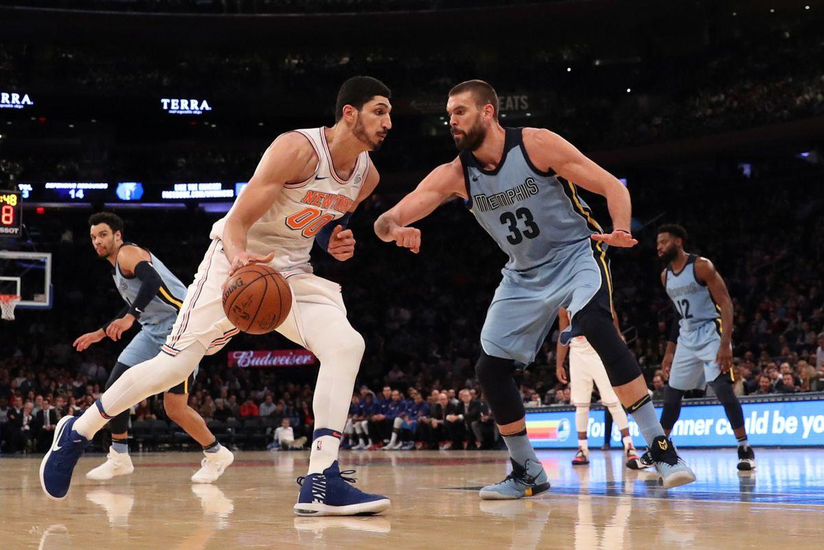 NBA: Memphis Grizzlies at New York Knicks