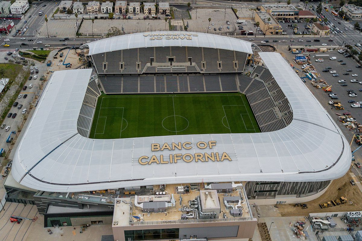 Lafc Los Angeles Soccer Stadium Opens Today Curbed La