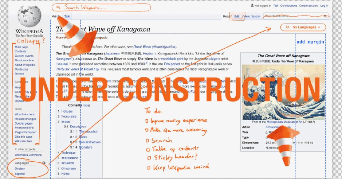 Wikipedia is getting its first desktop redesign in 10 years