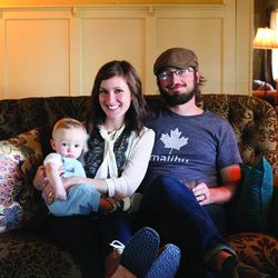 """Becky and Josh Rosenthal with son, Everett, are the authors of """"Salt Lake City Chef's Table: Extraordinary Recipes from The Crossroads of the West."""""""
