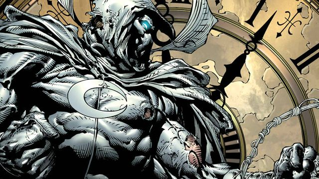 moon knight flexing those muscles