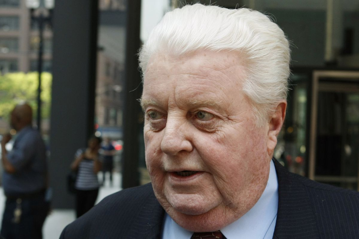 In this May 24, 2010 file photo, former Chicago Police Cmdr. Jon Burge departs the federal building in Chicago.