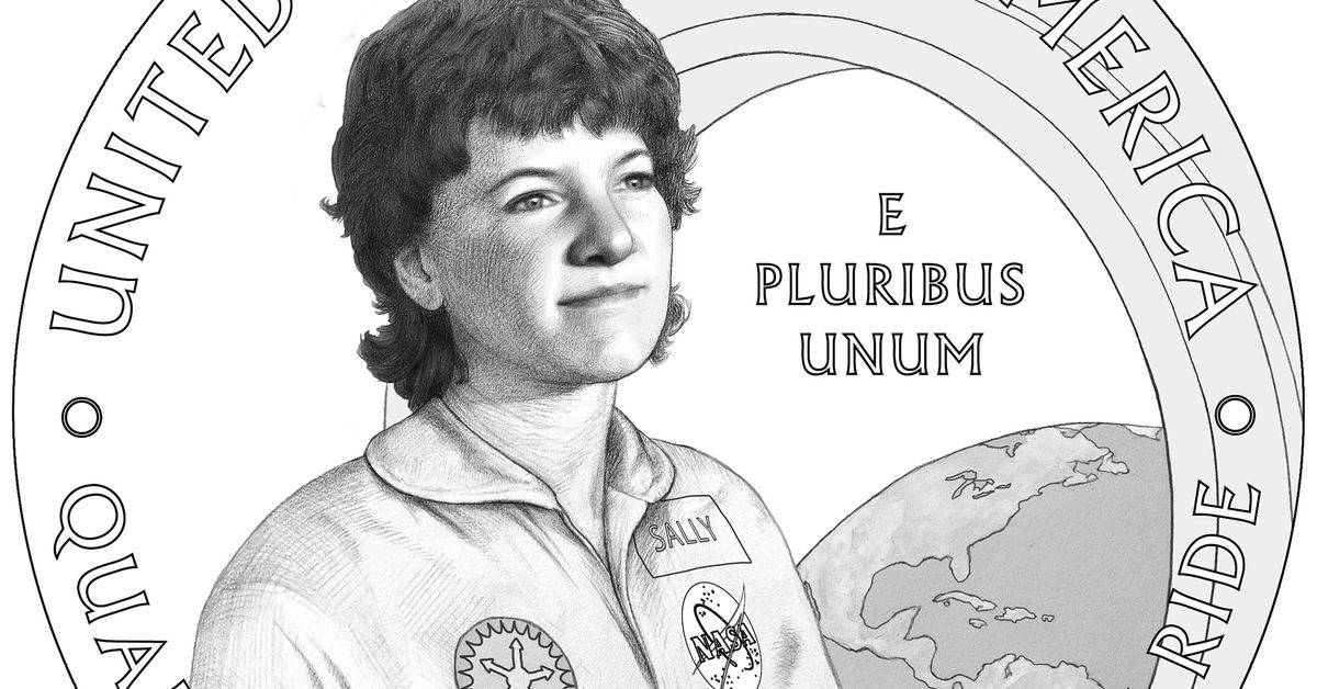Astronaut Sally Ride will be one of the women featured in the 2022 US quarter