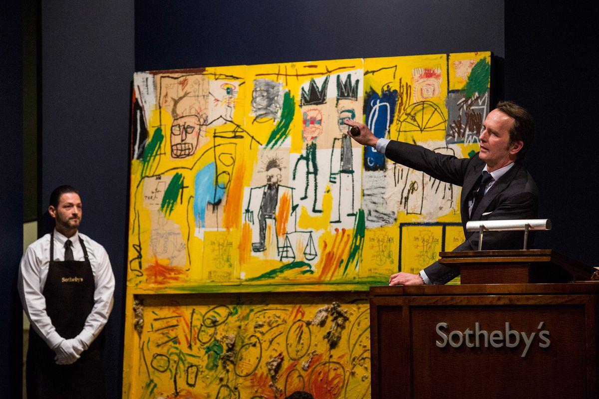 basquiat auction