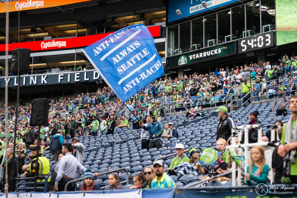 ECS walks out at halftime, protesting Iron Front flag removal
