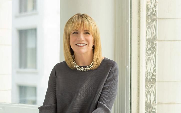Elissa Tenny, president of the School of the Art Institute of Chicago and the first woman to lead SAIC in its more than 150-year history.   Provided