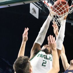 James Thompson IV for the dunk.<br>