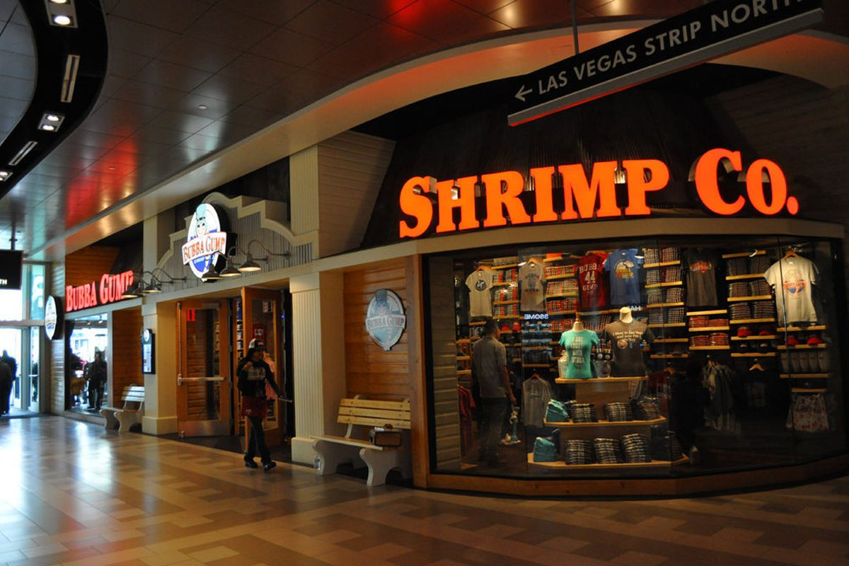 Bubba Gump Shrimp Co. has opened at Harmon Corner.