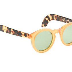 "<strong>A.R. Trapp</strong> 3686 sunglasses, <a href=""http://www.jcrew.com/womens_category/accessories/eyewear/PRDOVR~06217/06217.jsp"">$495</a> at J.Crew"