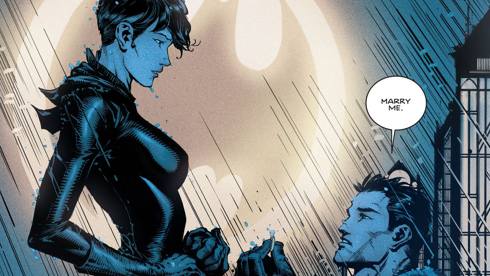 Getting married or no, Batmans next story is something
