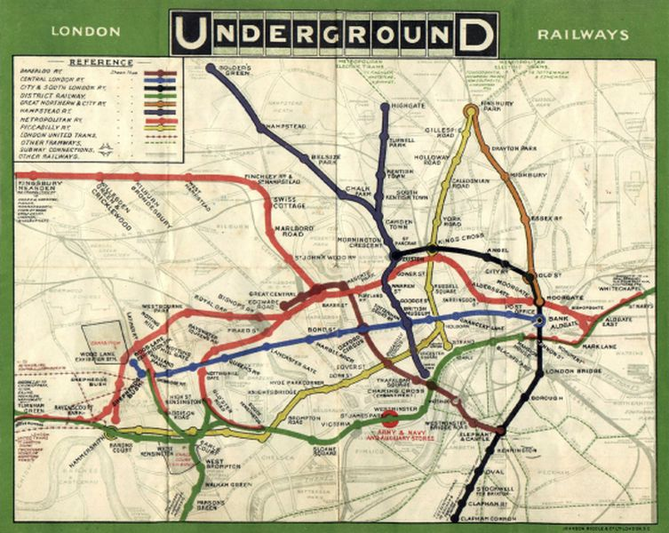 Meet Harry Beck, the genius behind London's iconic subway
