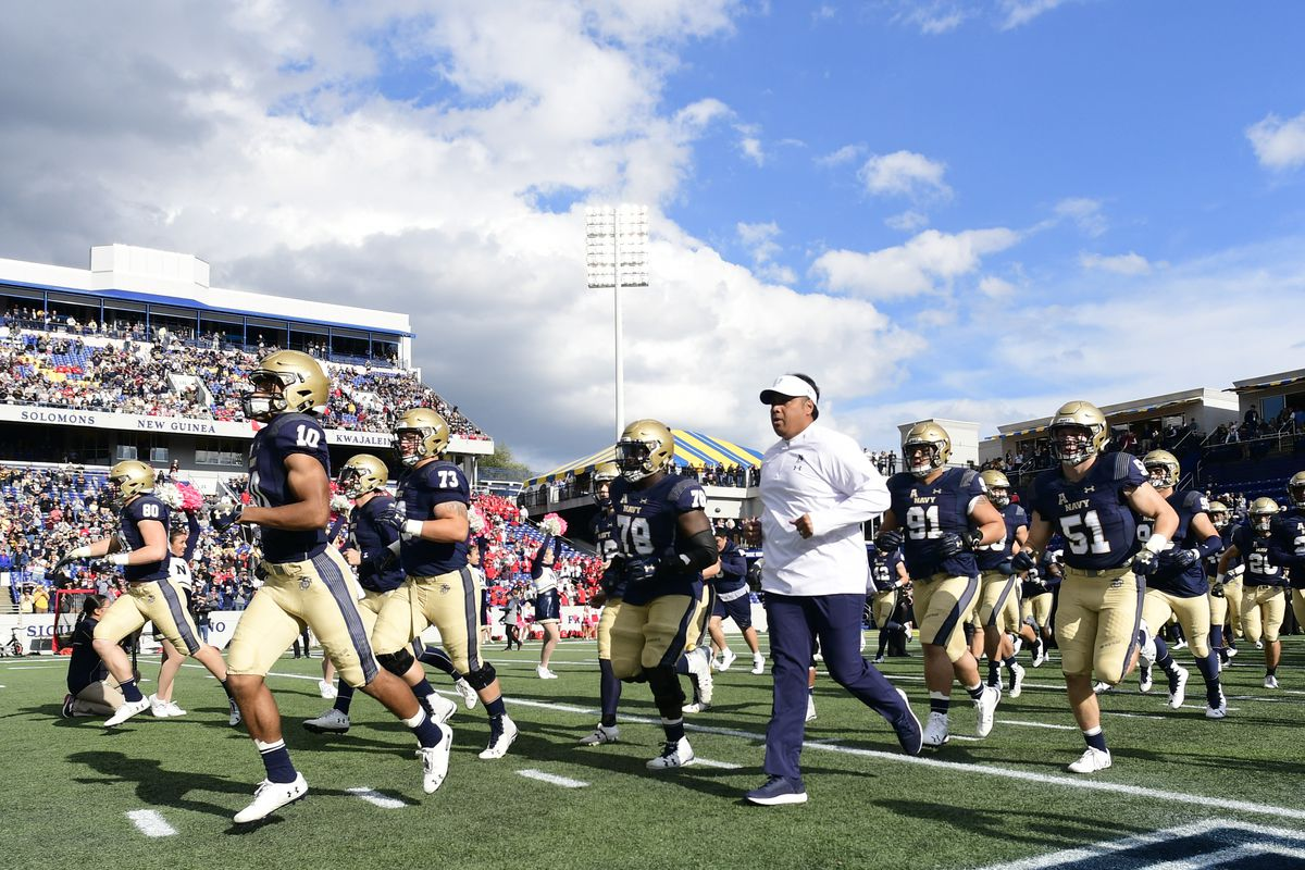 Notre Dame Irish Football Navy Midshipmen Q A With Against All