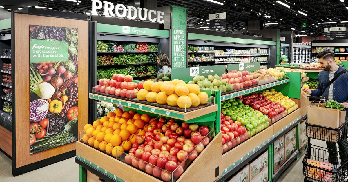 Amazon is opening a supermarket with no cashiers. Is Whole Foods next?