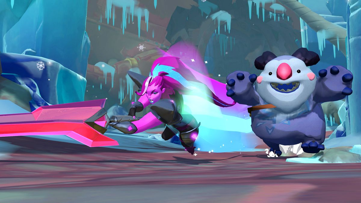 Zandora and Pakko from Gigantic