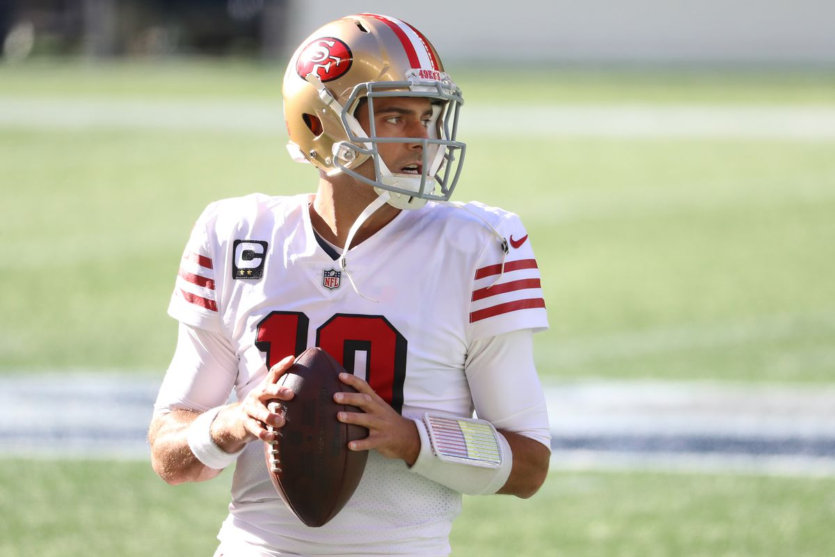 Could we see Jimmy G (Pictured) return to the Patriots?
