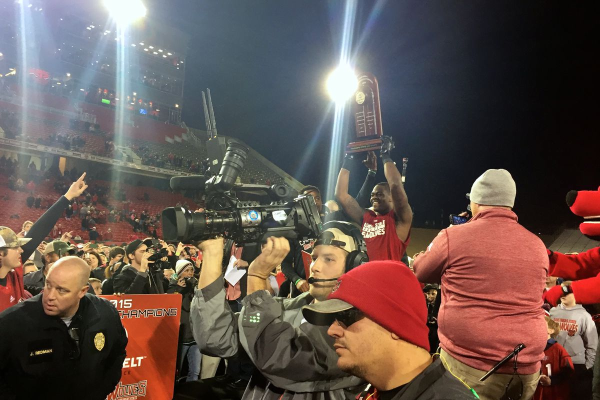 The Red Wolves are Champs of the Belt.