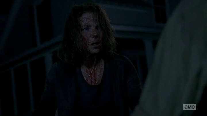 Deanna might ask Rick to lead on The Walking Dead.