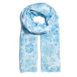 'Sea Urchin For You' pom pom scarf, $20