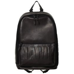 """For the self-aware slave to fashion, <b>3.1 Phillip Lim</b> offers the Name Drop backpack, at <a href=""""http://shop.nordstrom.com/s/3-1-phillip-lim-name-drop-backpack/3818558?origin=category&BaseUrl=Backpacks"""">$1,200</a> for a tongue-in-cheek non-logo logo"""