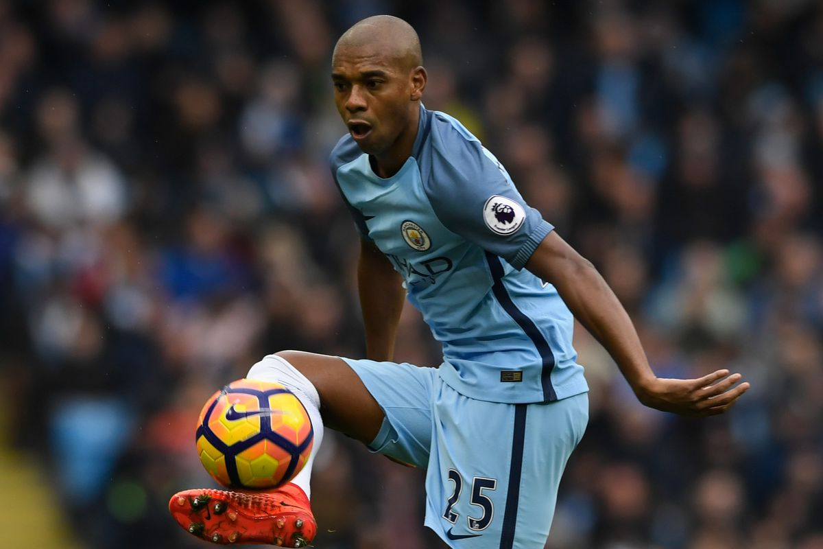 "Fernandinho ""I am fortable"" in new Manchester City role as"