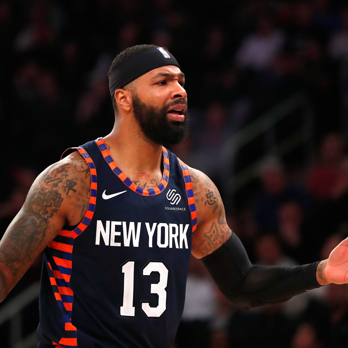 The Clippers Reportedly Want Marcus Morris But Should The Knicks Trade Their Leading Scorer Posting And Toasting