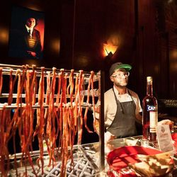 Anthony Strong repped Locanda at the Late Night Cocktail Adventure