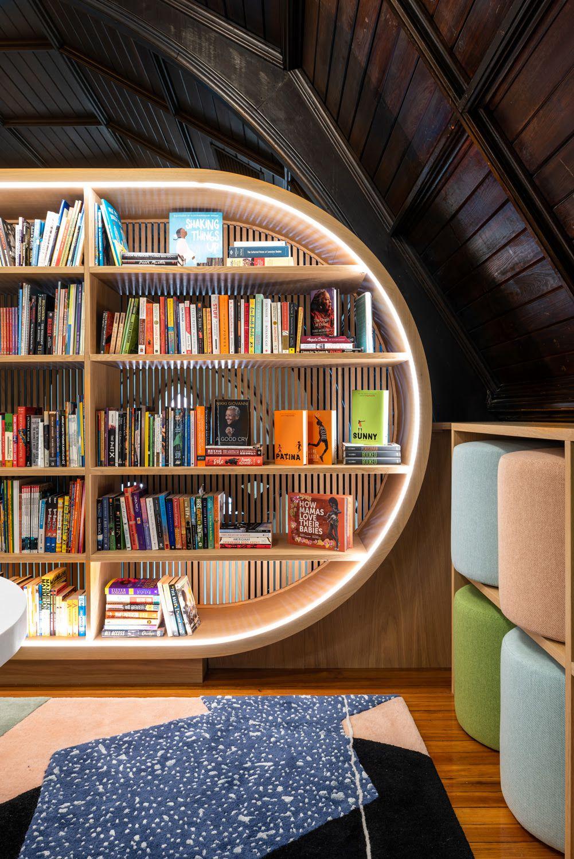 Concourse House S Design Forward Children S Library Debuts